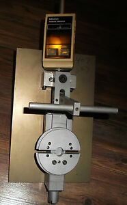 Mitutoyo Digimatic Dial Indicator With Clamping Stand Idf 112e