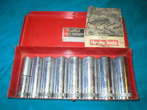 Husky Usa 8pc Standard Socket Set 1 2 Drive New Britian