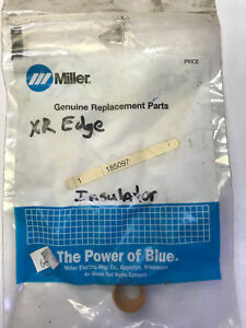Miller Model 185097 Machined Contact Tip Insulator Adapter For Xr edge Series