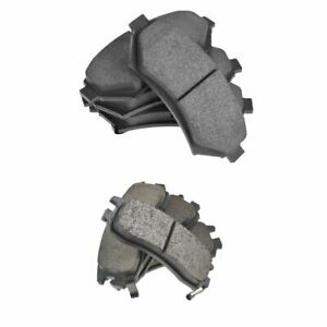 Front Rear Premium Posi Ceramic Disc Brake Pads For Buick Cadillac Chevy Olds