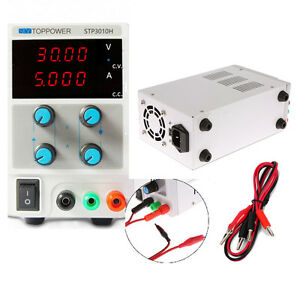 30v 10a Variable Adjustable Digital Dc Power Supply Regulated Equipment Current