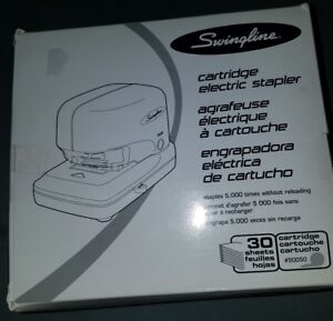 Swingline 69008 Electric Cartridge Stapler Black 30 Sheets