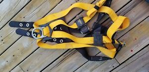 Lot Of 2 Miller Safety Harness Belts L Xl With Safety Cables And Hook