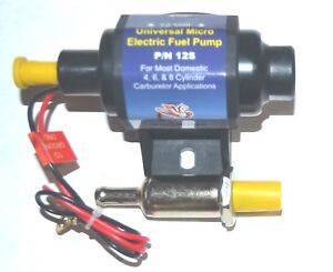 Electric Fuel Pump External In Line Universal 5psi 9psi 30gph 12v New