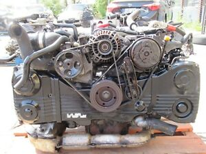 Jdm 2002 2005 Subaru Forester Turbo Engine Ej205 Avcs Automatic Transmission