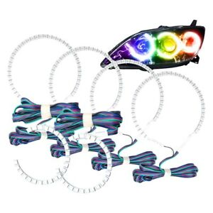For Mazda 3 04 09 Smd Colorshift Simple Triple Halo Kit For Headlights