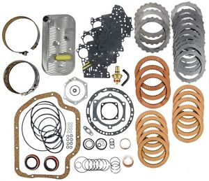 Jegs Performance Products 62014 Transmission Rebuild Kit 1965 1987 Gm Th 400 Non