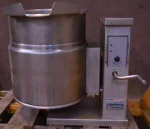 2010 Cleveland Ket 12 t 12 Gallon Electric Tilt Steam soup Kettle Tilting 12t