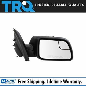Mirror Power With Spotter Textured Black Passenger Right Rh For 11 14 Ford Edge