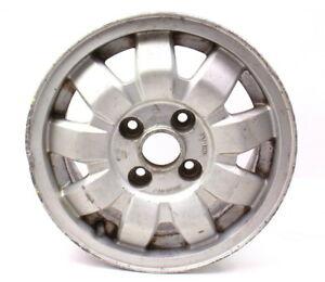 13 Alloy Wheel Rim 4x100 75 84 Vw Rabbit Jetta Scirocco Mk1 171 601 025 J