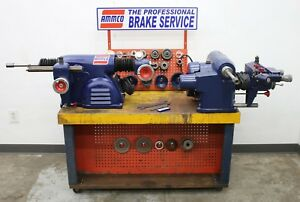 Used Ammco 3000 7000 Hustler Rotor Drum Brake Lathe Combo Service Center 3