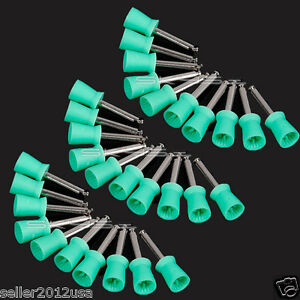 1000pcs Dental New Polishing Polisher Prophy Cup Latch Type Green Sale