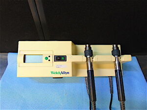 Welch Allyn 767 Series Transformer Powers On Tested With Otoscope Head s3427