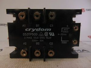 Crydom D53tp50d Solid State Relay 3 Phase 530v 50a