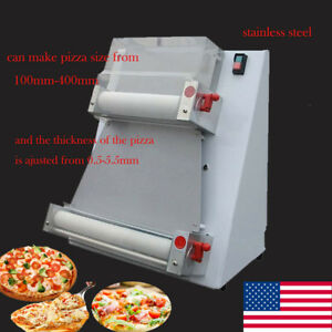 Electric Pizza Bread Dough Roller Dough Sheeter Pizza Making Machine Steel Fda