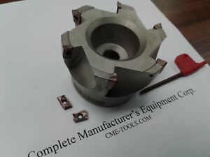 3 90 Degree Indexable Face Mill Shell Mill Sandvik R390 11t308 506 sdvk 3