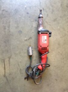 Milwaukee 5196 Electric Die Grinder 11 Amp 120 V 14500 Rpm Missing The Collet