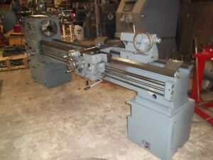 Summit Model 19 4 Engine Lathe 19 X 80 Large Spindle Hole 4 1 8