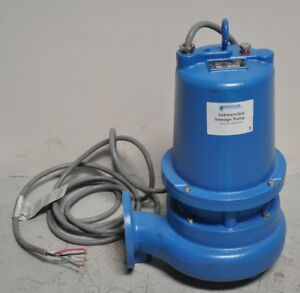 Goulds Water Technology Ws2032d3 Submersible Sewage Pump 2 Hp 230v
