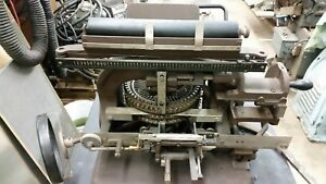 Addressograph Multigraph Graphotype Model 6153 Metal Tag Plate Embossing Machine