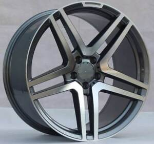 20 Wheels For Mercedes Gl450 Gl550 Gls450 Gls550 20x9 5