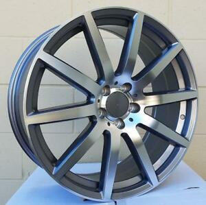 20 Wheels For Mercedes S class S450 S560 2018 staggered 20x8 5 9 5