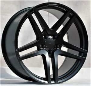 20 Wheels For Mercedes S class Coupe S550 S600 S63 S65 stagger