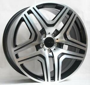 22 Wheels For Mercedes Gl450 Gl550 Gls450 Gls550 22x9 5