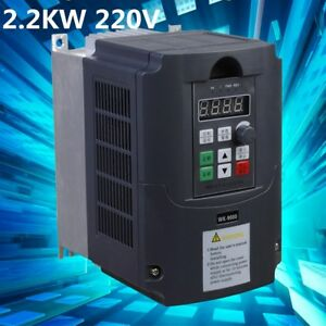 2 2kw 220v 3hp Single Phase To 3phase Variable Frequency Drive Converter Inverte