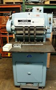 Lawson 3 hole Paper Drill Heavy Duty Floor Model With Extras Tested Challenge