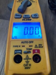 Fieldpiece Sc260 Compact Clamp Meter With True Rms
