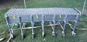 nestaflex 226 Commercial industrial H d Portable flexible Conveyor 18 w 24ft