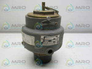 Kunkle 337 j01 ke Vacuum Safety Relief Valve Used