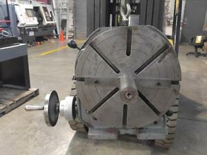 Troyke 15 Horizontal Vertical Rotary Table With Lifting Tool