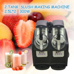 2 5l 2 Mini Margarita Slush Frozen Drink Machine 300w Slushy Making Machine