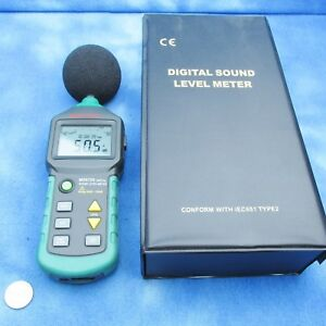Mastech Ms6700 Auto Range Digital Sound Level Meter Tester Range 30db 130db