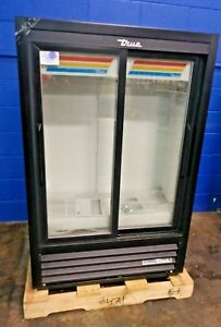 True Gdm 33ssl 56 hc ld Glass Door Cooler Merchandiser Refrigerator