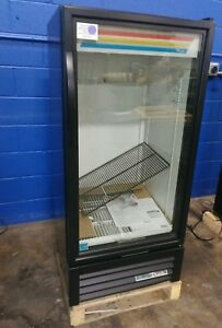 True Gdm 10 hc ld Glass Door Cooler Refrigerated Merchandiser With Led Lighting