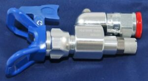 New Graco 180 Degree Angle Shut Off Valve Spray Gun Adapter 7 8 22mm 287030