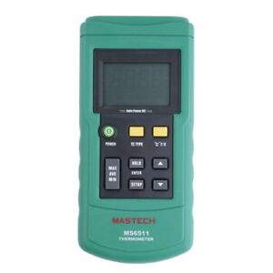 Mastech Ms6511 Digital Thermocouple Thermometer Type Temperature Meter Tester