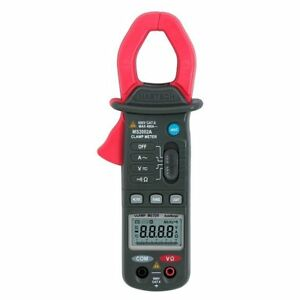 Mastech Ms2002a Digital Clamp Meter 4000 Count Display 3 3 4 Resistance Tester