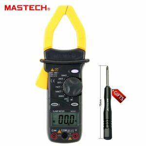 Mastech Ms2001c Digital Clamp Meter Multimeter Diode Resistance Measurement