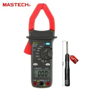 Mastech Ms2001 1000a Digital Ac Clamp Meters Ammeter Ohmmeter Tester Backlight