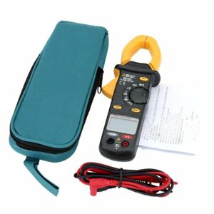 Mastech Ms2002 Digital Clamp Meter Dc ac Voltage Resistance Audible Measurement
