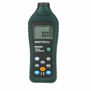 Mastech Ms6208b Pocket Size 50 99999rpm Non contact Digital Tachometer