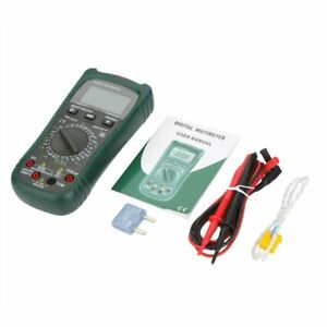 Mastech Ms8260c Digital Multimeter Dmm Hz Temperature Meter Tester Capacitor