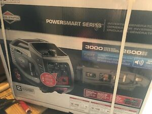 Briggs Stratton P3000 Powersmart Series Portable 3000 watt Generator 30545