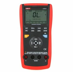 Uni t Ut611 Lcr Meters Inductance Capacitance Resistance Frequency Multimeter