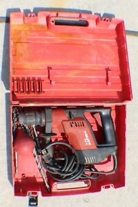 Hilti Te 5 Electric Rotary Hammer Drill In Case