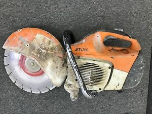 Stihl Ts 420 Gas Concrete re bar Cut off Saw